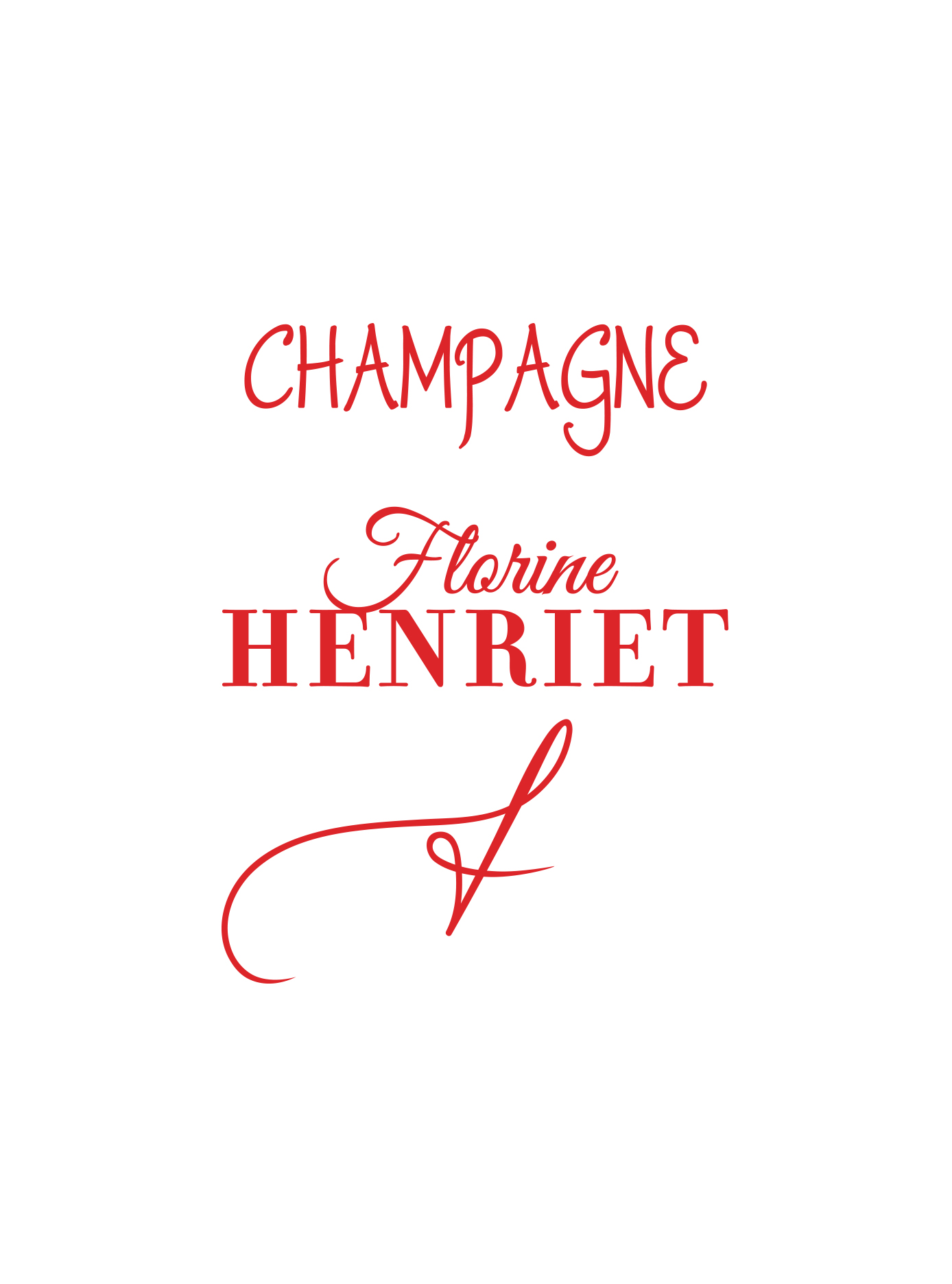 Champagne Florine Henriet packaging